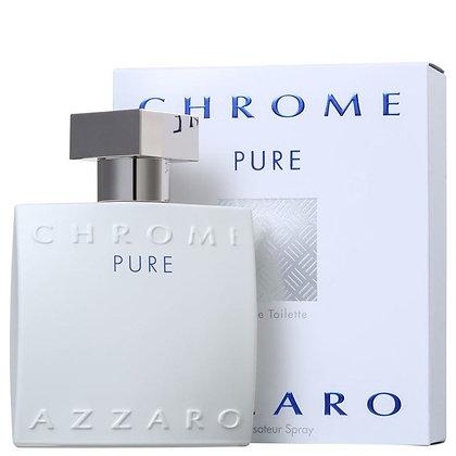 Azzaro | Chrome Pure | E.D.T | 100ml | בושם לגבר