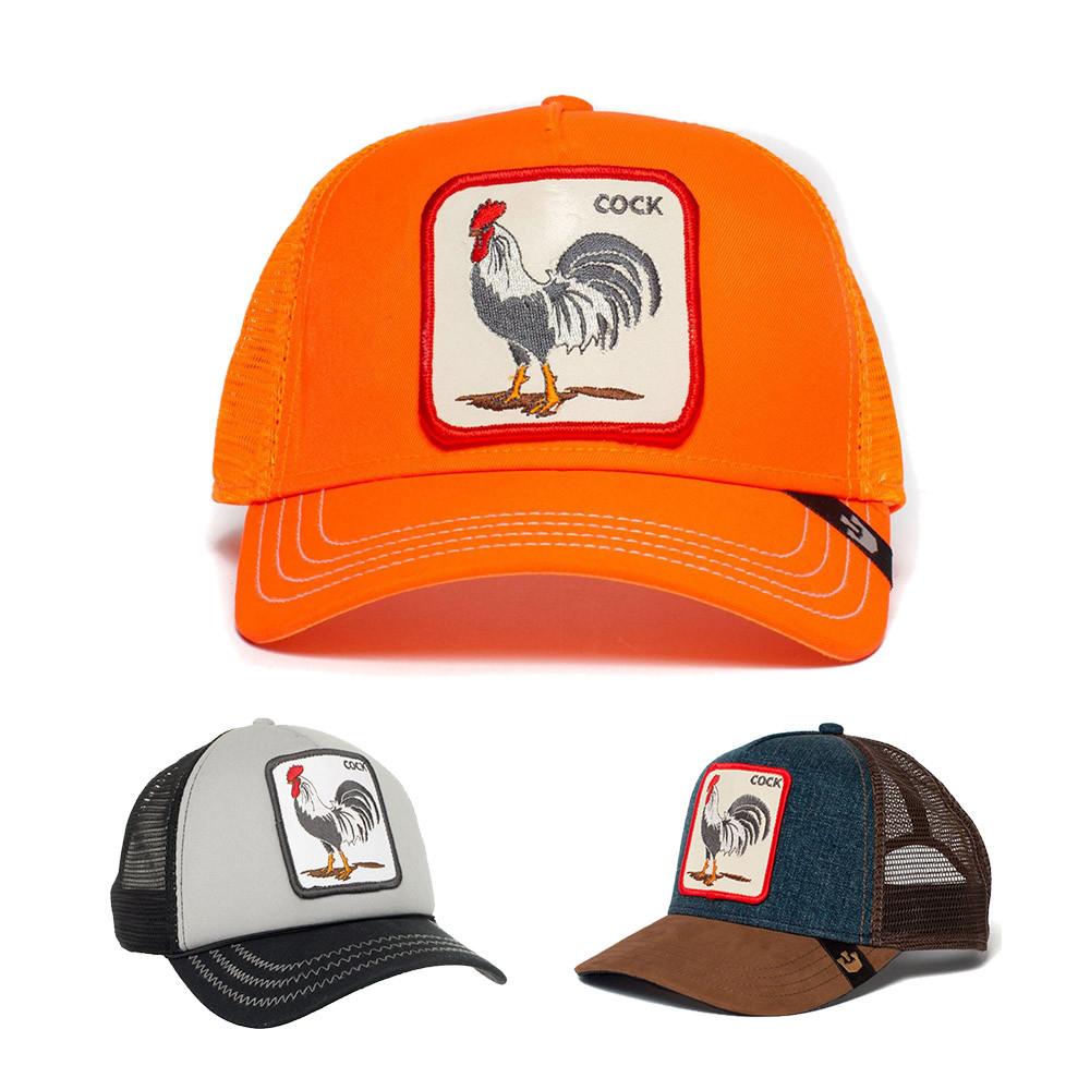 כובע מצחייה של גורין עם דמות תרנגול
