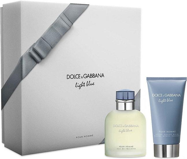 Dolce & Gabbana   Light Blue   E.D.T   סט טיפוח לגבר