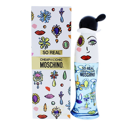 Moschino | Chip And Chic So Real | E.D.T | 50ml | בושם לנשים