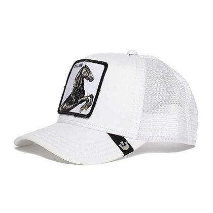 Goorin bros | Stallion | כובע מצחייה של גורין | סוס | לבן