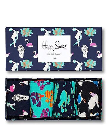 Happy Socks | Day In The Park | 36-40 | הפי סוקס | מארז גרביים