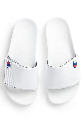 Champion | Slide Velcro Slide | כפכפים | לבן