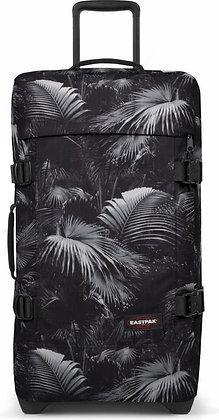 Eastpak   Tranverz M    מזוודה בינונית   ג׳ונגל שחור לבן