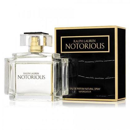 Ralph Lauren | Notorious | 75ml | E.D.P | בושם לאישה ראלף לורן