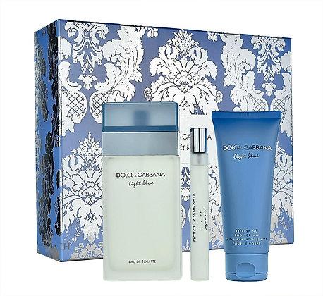 Dolce & Gabbana | Light Blue | E.D.T | סט מבושם לאישה
