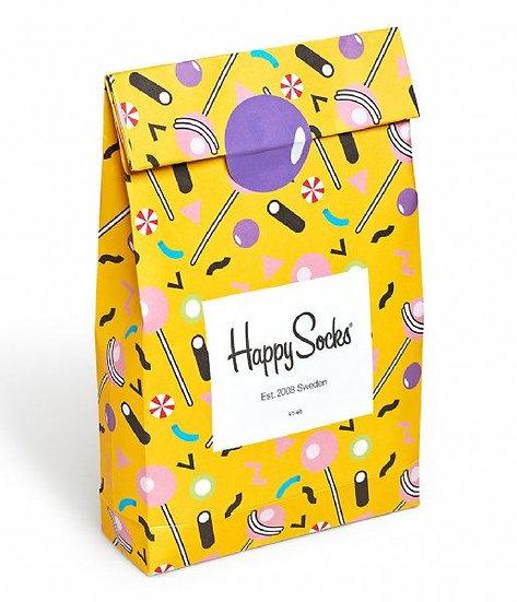 Happy Socks | מארז גרביים | שקית ממתקים