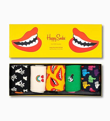 Happy Socks | Don't Worry, Be Happy | 41-46 | מארז גרביים הפי סוקס