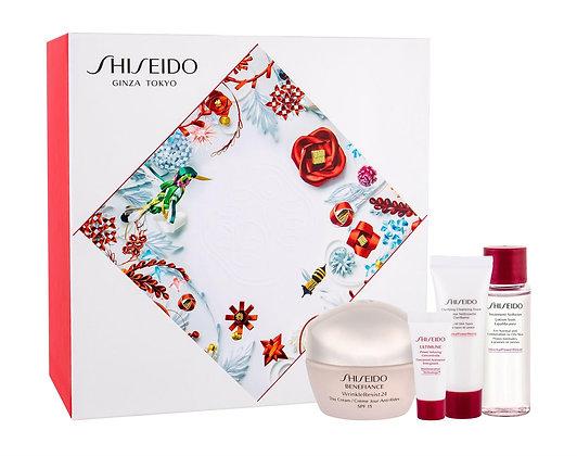 Shiseido   Benefiance WrinkleResist 24   Set   סט טיפוח לאישה