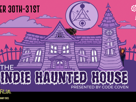 Monstrum is at The Indie Haunted House!