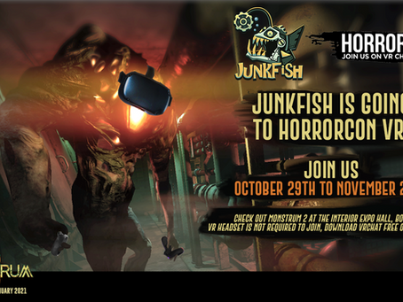 Junkfish is coming to Horror Con VR!
