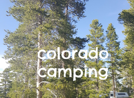Sunset Point Campground in Arapaho National Forest Colorado