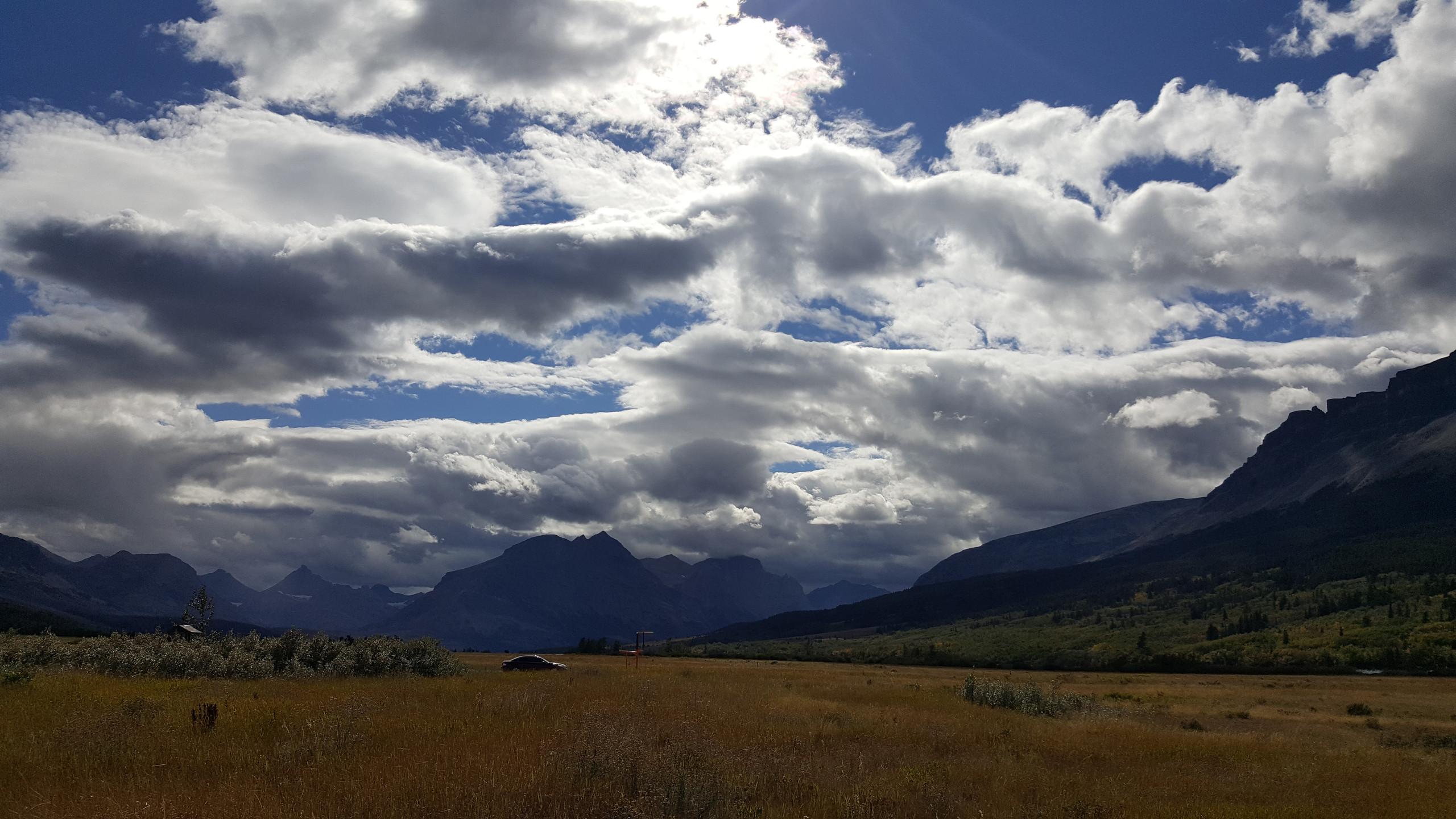 Montana skies @ St Mary