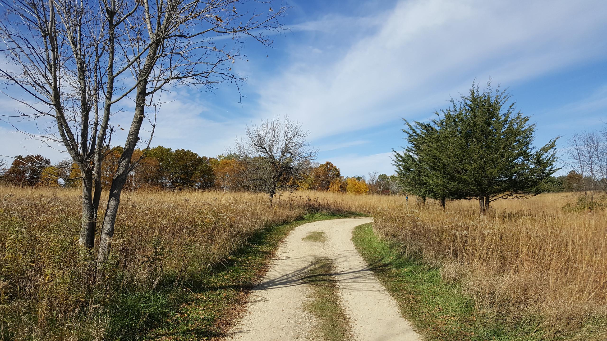 campsite trail