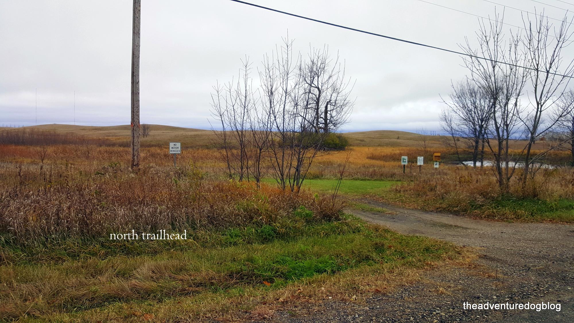 north trailhead