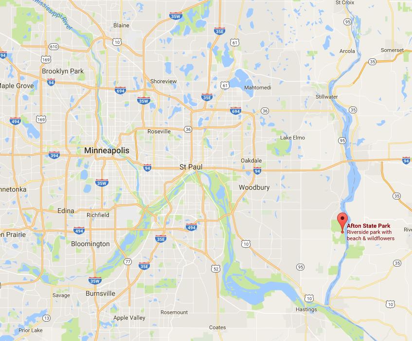Relative to Minneapolis