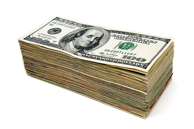 Having a stash of cash set aside can be of great help when you're in a financial pinch. Image credit to: Andrew Magill
