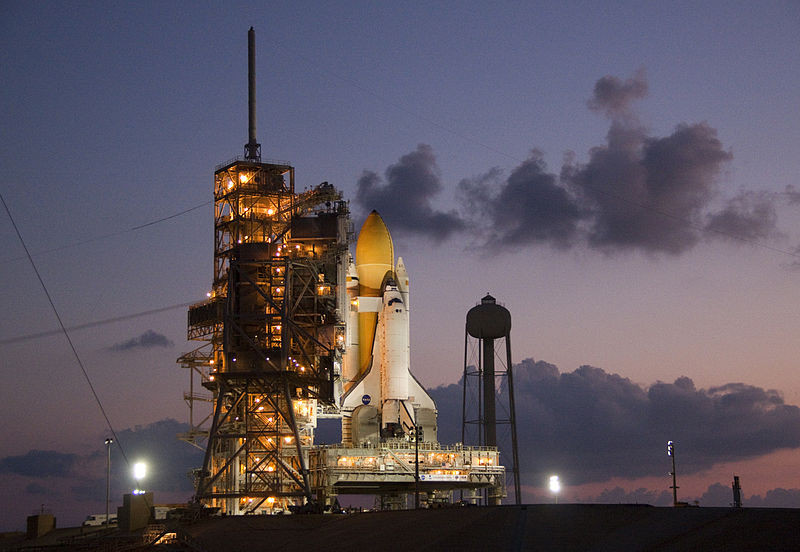Build your platform to launch from. Image credit: NASA/Jack Pfaller