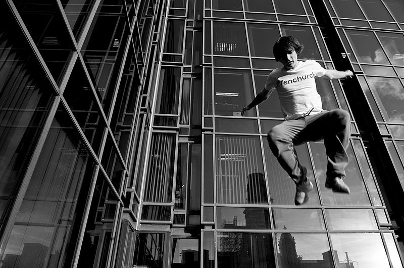 If you get good enough at job hopping does it become career parkour? Image credit: THOR