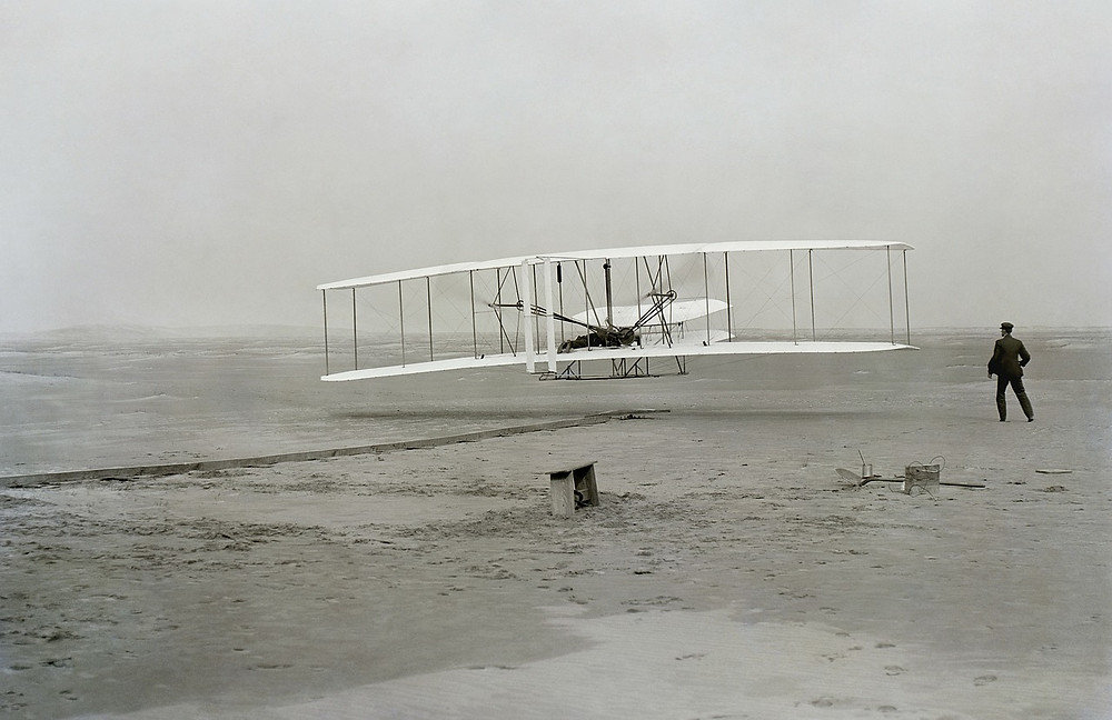 The Wright brothers beat the better funded and highly regarded Samuel Pierpont Langley in becoming the first to fly an airplane because they approached it with an infinite mindset while Langley did not.