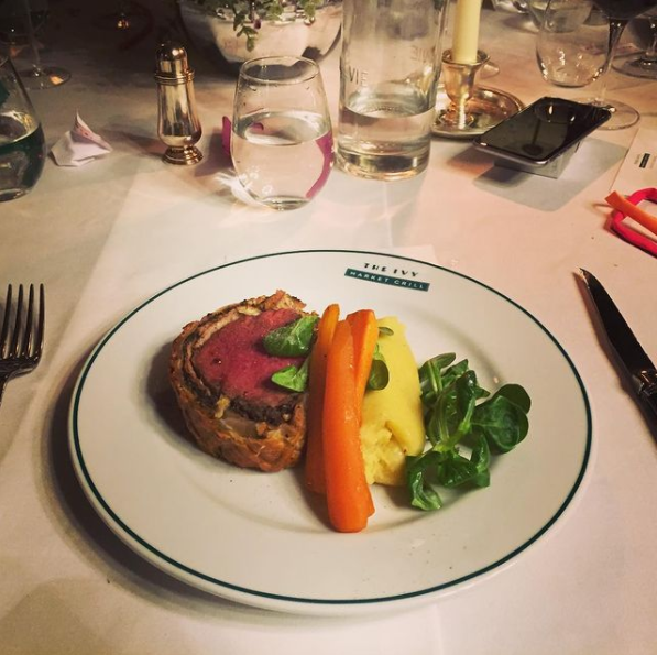 My top tip is to avoid fancy restaurants unless it's a special occasion and you're not stuck with the bill. For example, we went to The Ivy for the work's Christmas party in 2016. Photo credit: FI Scribbles.