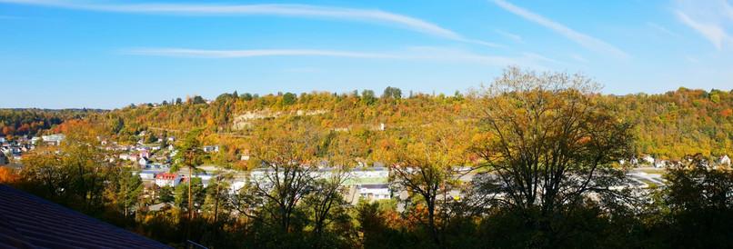 Blick auf das Sulzer Tal vom 3. OG