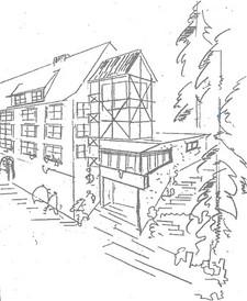 Zeichnung unserer Einrichtung