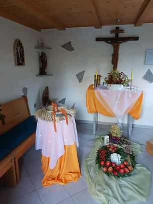 St. Katharinen-Kapelle von innen