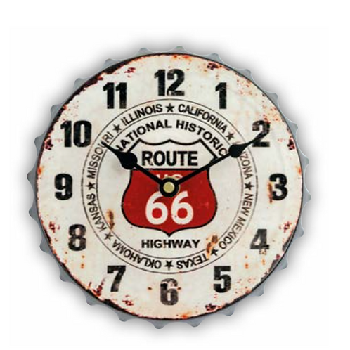 Orologio Highway d.20cm h5,5cm