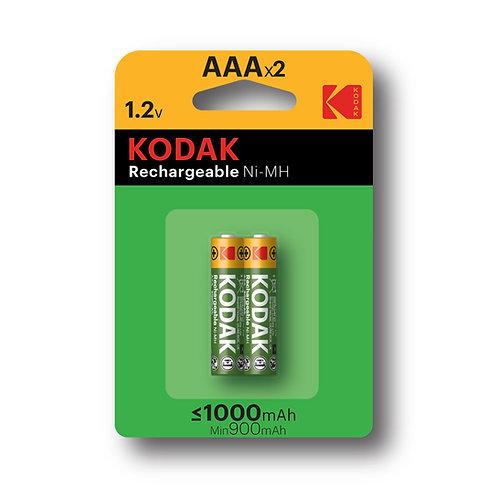 Batterie Ricaricabili AAA Ministilo Kodak 1000 mHA