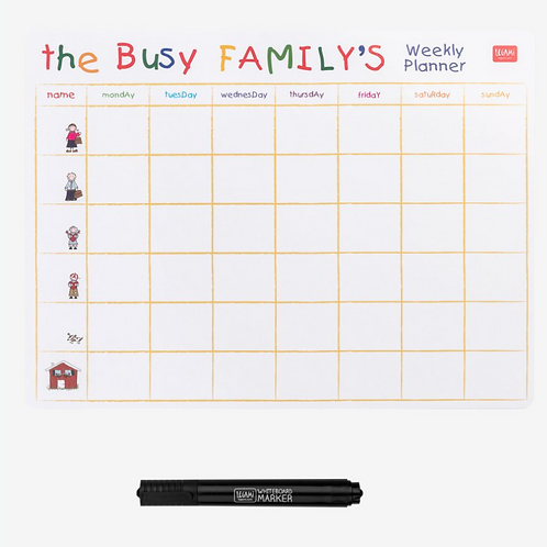 Lavagna Magnetica Busy Family – Legami