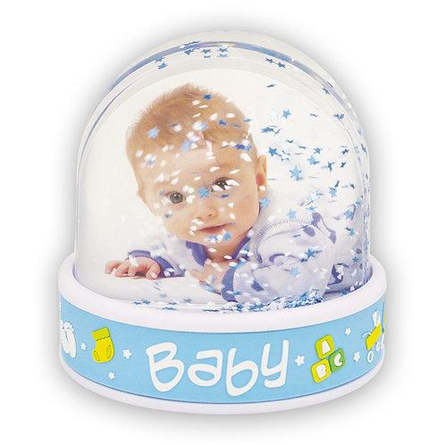 Foto Globo Bimbo - Photo Globe Baby Blue