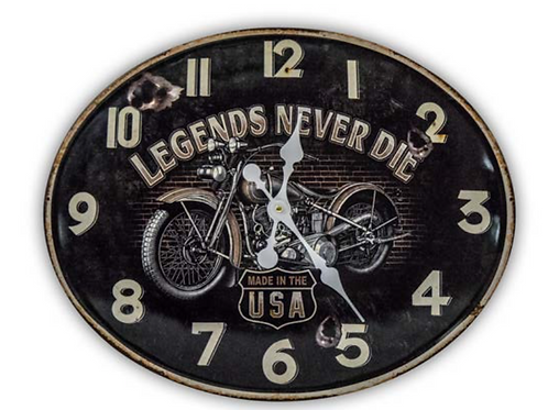 Orologio Legends H2 49x39 h1cm