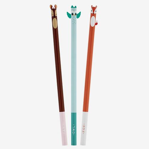Set di 3 matite – Little Sweet Friends – Legami