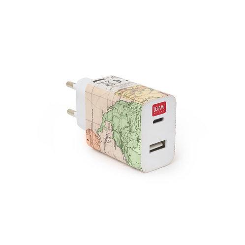 Caricabatterie da Muro - USB + USB-C