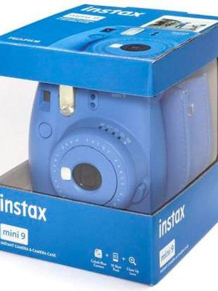 Fujifilm Instax Mini 9 + Borsa + 10 Pellicole Blu