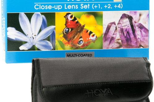 Set Lenti Close Up Hoya 52mm (+1, +2 e +4) – Lenti per fotografia macro