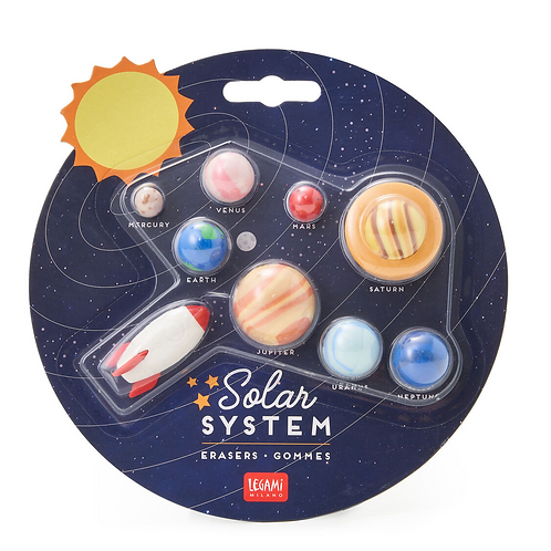 Solar System – Set di 9 gomme