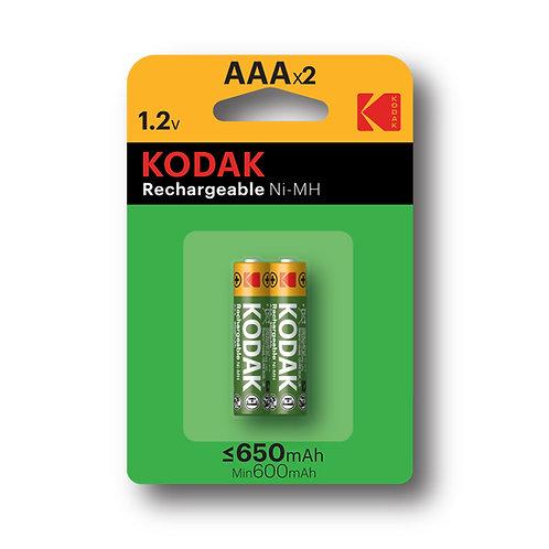 Batterie Ricaricabili AAA Ministilo Kodak 650 mHA