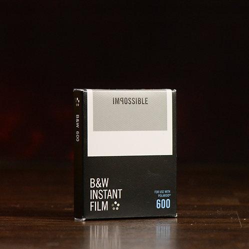 Polaroid Ricarica 600 Bianco e Nero 8 foto