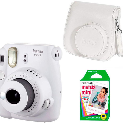Fujifilm Instax Mini 9 + Borsa + 10 Pellicole Bianca