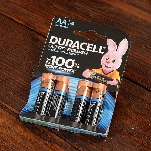 Batterie Ultra AA Stilo Duracell