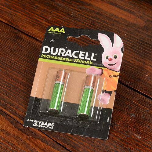 Batterie Ricaricabili AA Stilo Duracell