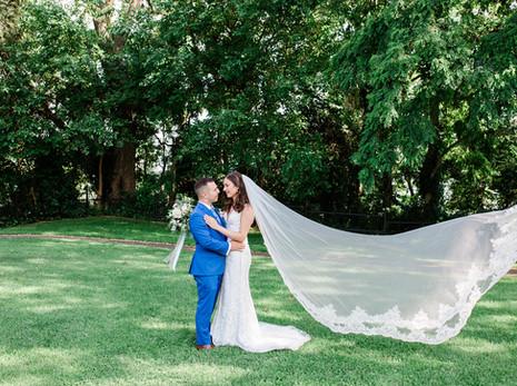Rochelle & David's Summer Wedding