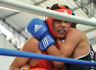 Inició el boxeo en los Juegos Nacionales Juveniles