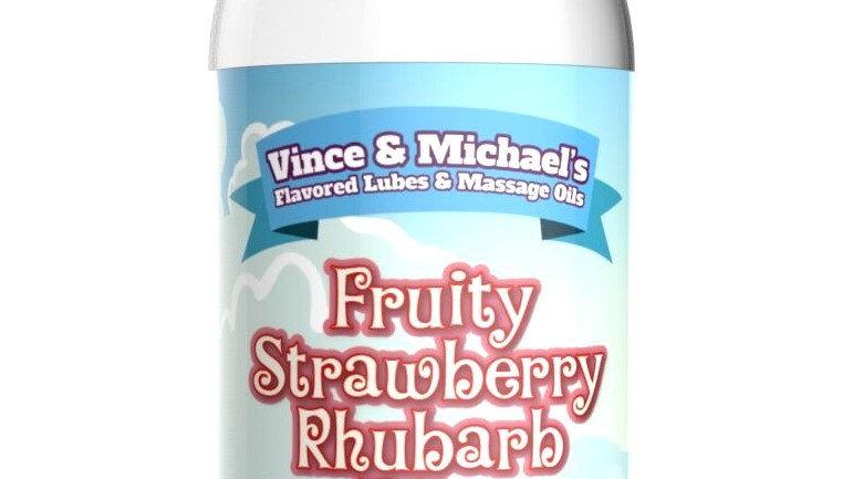 Lubrifiant V&M Saveur Fraise Rhubarbe - 50 ml