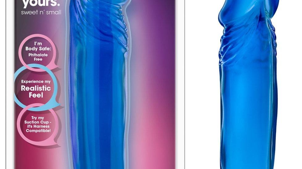 Gode Ventouse Réaliste B-Yours Bleu - 16 cm