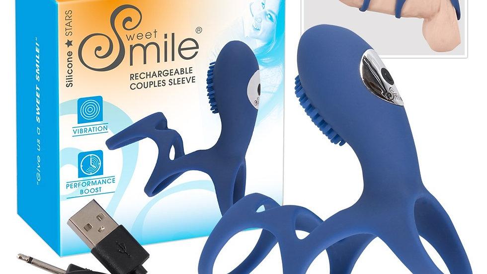 Anneau Vibrant Rechargeable Smile Couple