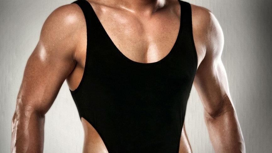 Body string noir 010 - L-XL