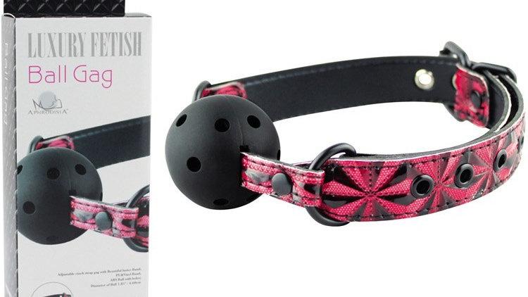 Baillon rouge Luxury Fetish Ball Gag